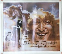 "VTG Rare 1983 John Lennon Strawberry Fields Nate Giorgio 23 x 30"" Poster... - $67.67"