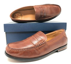 Cole Haan Pinch Friday Mens Penny Loafers Woodbury Brown Slip-On C23845 ... - $82.99