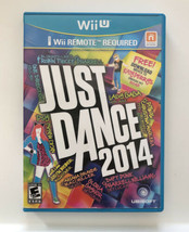 ☆ Just Dance 2014 (Nintendo Wii U 2013) COMPLETE in Box Game Tested Works ☆ - $9.50