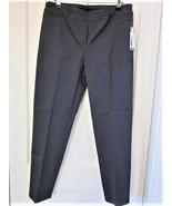 NEW DIRECTIONS GREY SLIM LEG STRETCH WOMEN's PANTS - SZ. 12 - NWT - $12.86