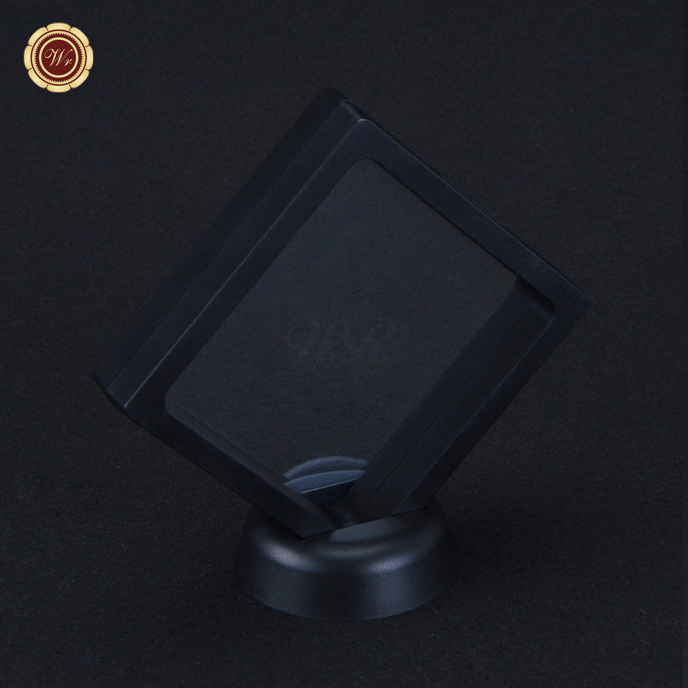 "Primary image for 3.5x3.5"" Square Coin & Bar Collection Protect Case Display Frame 3D Floating"