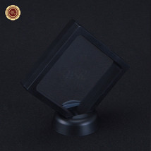 "3.5x3.5"" Square Coin & Bar Collection Protect Case Display Frame 3D Floa... - $6.67"
