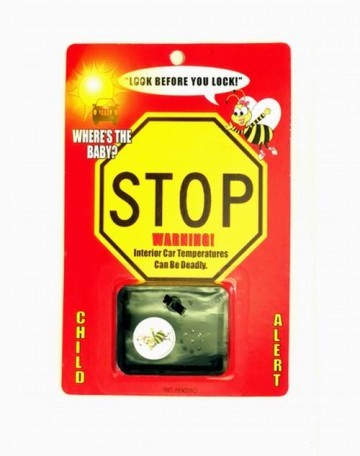 Bee-Alert Hot Car Child Safety Alarm / 24 ct