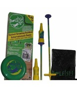 Bottle Bash Standard Game Set: Soft Surface Spike Backyard Camping Tailg... - $80.26
