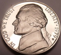 United States Proof 1979-S Type 1 Jefferson Nickel~Excellent~Free Shipping - $3.22