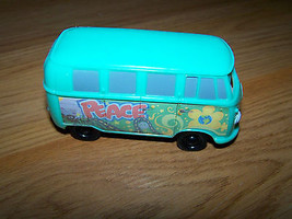 Disney Cars Fillmore Volkswagon Bus Peace Love Groovy McDonalds 2006 Toy Vehicle - $10.00