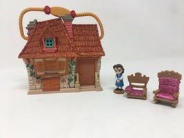 Disney Store Animators Littles Beauty Beast Belle Mini Toy Play Set Incomplete - $23.22