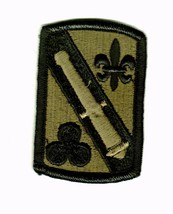 42nd Field Artillery Brigade Patch Subdued ARMY:MD10-1 - $3.85