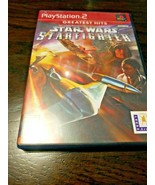 Star Wars: Starfighter Greatest Hits (PS2 PlayStation 2, 2002)  - $4.99