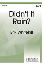 Didn't it Rain? - $2.25