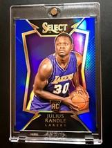 2014-15 Nba Panini Select Julius Randle Rc Blue Prizm /249 89 Rookie Car... - $222.90