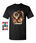 First In Last Out T-Shirt Fire & Rescue FD American Firefighter Mens Tee Shirt - $15.25 - $24.99