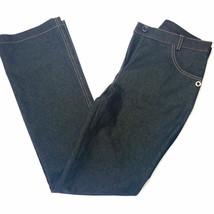 Black Women jeans size 28 in L32 straight bootcut  elegant - $63.11