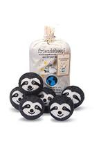 Friendsheep Organic Eco Wool Dryer Balls - Sloth - Handmade, Fair Trade, Organic