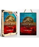 Doctor Collector [Jurassic World Life Finds A Way WoodArts 3D Print] Bra... - $71.99