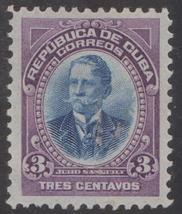 1907 Cuba Stamps Sc 241 Major General Julio Sanguily  MNH - $4.99