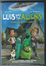 Luis And The Aliens (DVD, Widescreen, 2018, Animated) New  - $5.86
