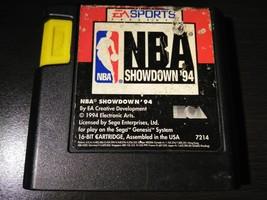 NBA Showdown 94 Sega Genesis 1994 Tested Works Great - $1.95