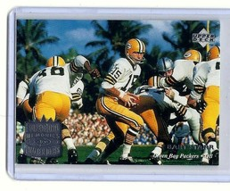 BART STARR * GREEN BAY PACKERS * 1997 UPPER DECK LEGENDS - CARD #180 - $1.95