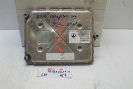 2016 Dodge Challenger Engine Control Unit ECU 68243309AA Module 56 6B1 - $63.35