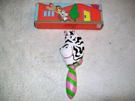 Vintage Avon Children's  ZANY ZEBRA HAIR BRUSH Unused - $5.00
