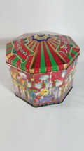 M&M's Metal Tin Collector Merry-Go-Round Carousel Christmas 1997 - $9.90