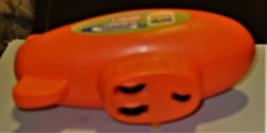 Nickelodeon Vintage 1999 BURGER KING MOTORIZED WIND UP ORANGE BLIMP image 4