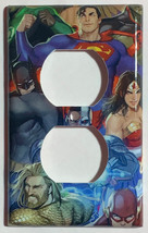 DC Superhero Super heroes Light Switch Power Outlet Wall Cover Plate Home decor image 2