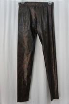 Hot Sox Dream Collection Leggings Sz B Brown Black Combo Polyester Leggings - $19.71