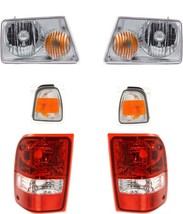 Headlights For Ford Ranger 2006- 2011 With Tail Lights And Turn Signals - $159.95