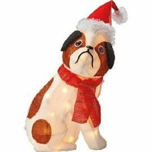 "French Bulldog Dog Outdoor or Indoor Christmas Lawn Decoration New LED 18""  - $34.60"