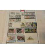 Lot of 18 1970 Congo Peoples Republic Stamps, Shuttle, Fish, Lions, Flowers - $18.56