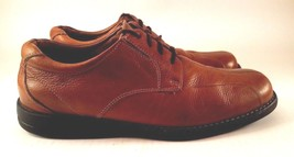 Bass Men's Brown Chesney Casual Oxford Shoes Size 9.5 M Lace Up Leather Lining - $27.66