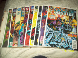 EXTREME JUSTICE#9, 10, 11, 12, 13, 14, 15, 16, 17, 18, - $17.50