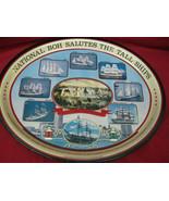 Vintage 1976 National Boh Salutes Tall Ships Metal Beer Tray - $34.64