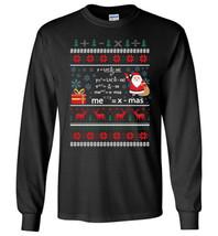 Pi Math Equation Christmas Sweater Teacher Long Sleeve - $12.95+