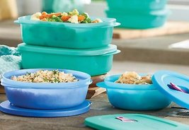 Tupperware CrystalWave Plus Containers Set of 4 - $60.00