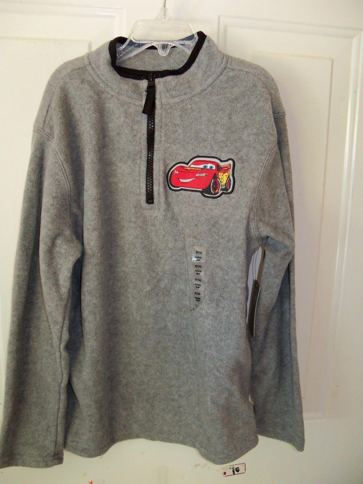 Disney Cars Lightning McQueen Child Pullover 6-7 S 8 M Sweatshirt Hoodie New