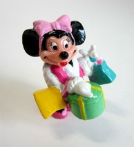 Vintage Disney Minnie Mouse in Pink High Heels Shopping PVC by Applause - $9.75