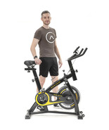 New Stationary Exercise Bike Bicycle Trainer Fitness Cardio Cycling Trai... - $294.06