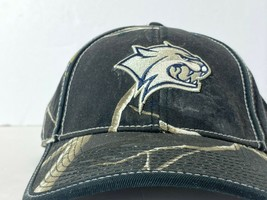 New Hampshire Wildcats NCAA Adjustable Buckle Back Embroidered Realtree Camo Hat - $17.99