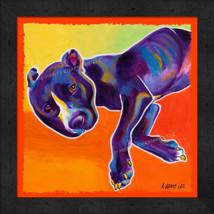 The Sleepy Dog 13x16 Framed Pop Art Print  - $39.95