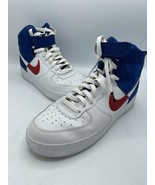 Nike Air Force 1 High '07 NBA Clippers Red White Blue BQ4591-102 Men's S... - $78.53