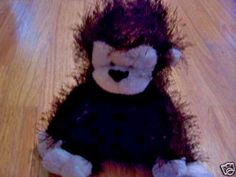 Webkinz Ganz Monkey Chimp Stuffed Plush Fuzzy Animal Toy - $5.00