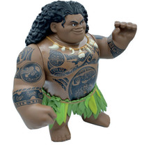 "DISNEY HASBRO 2015 Moana MAUI 10"" Swing N' Sounds Talking Doll Figure TE... - $18.59"
