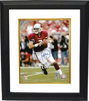 Primary image for Matt Leinart signed Arizona Cardinals 16X20 Photo Custom Framed- Leinart Hologra