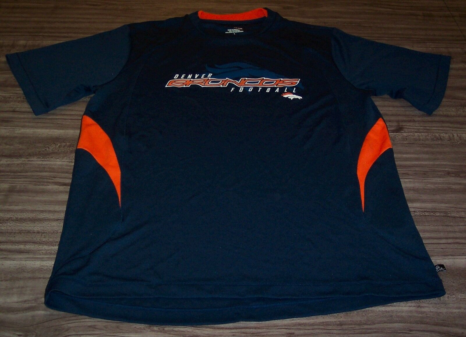 Primary image for DENVER BRONCOS NFL FOOTBALL PULLOVER JERSEY MENS LARGE  NEW