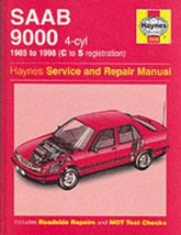 Saab 9000 (4-cylinder) Service and Repair Manual (Haynes Service and Rep... - $19.55
