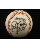 JOSE LIMA Single Signed ONL Baseball w/ #42 Insc (d.2010) Astros Tigers ... - $73.45