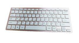 Actto Korean English Bluetooth Slim Keyboard Wireless Compact Tenkeyless (Pink) image 6